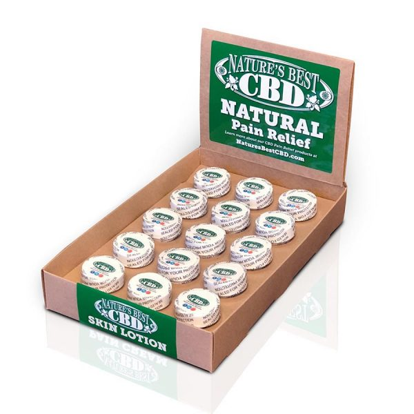 Picture of Nature's Best CBD 15-pack of 1/2 oz Natural Pain Relief Pain Cream