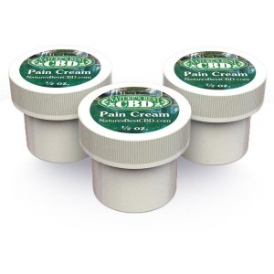 Picture of Nature's Best CBD 3 pack of Pain Cream (1/2 oz each x 3)