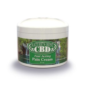 Picture of Nature's Best CBD Fast Acting Pain Cream, 4 oz size