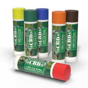 Nature's Best CBD Lip Balm 6 Assorted Flavors