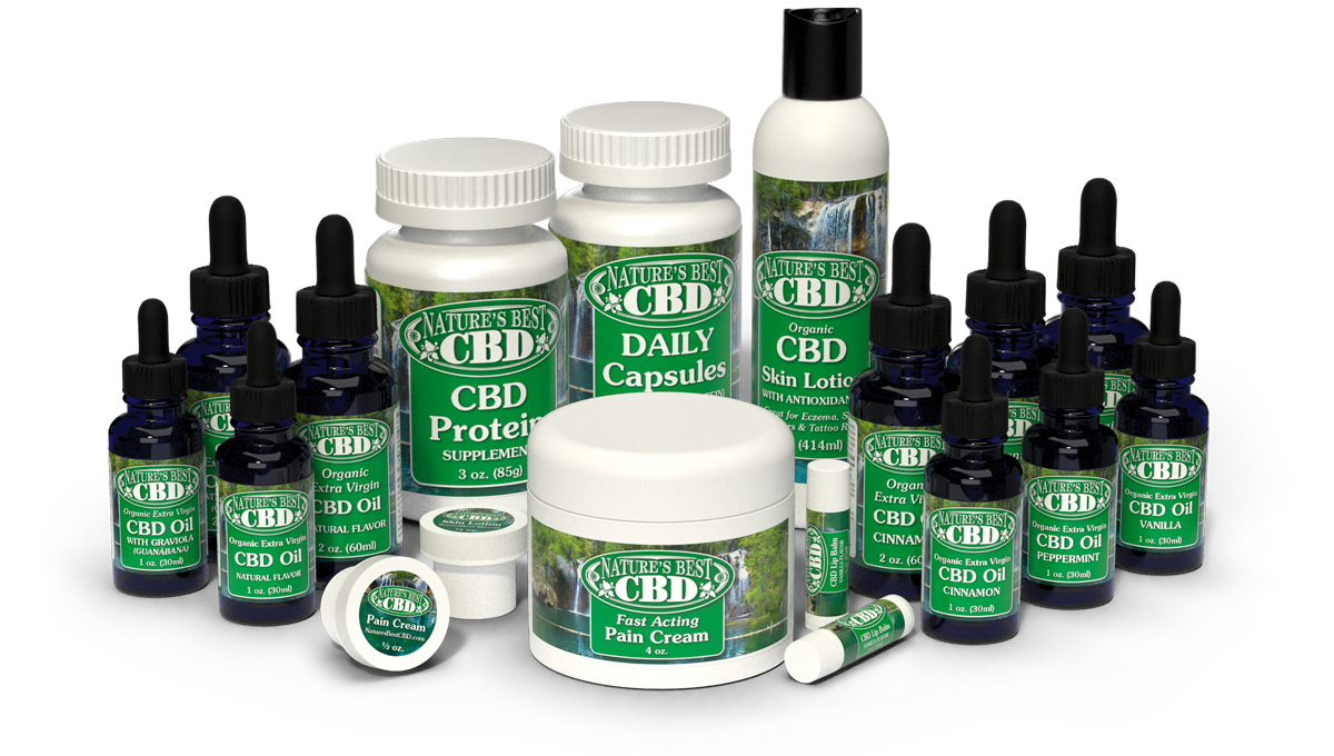 Natures Best CBD Products Group